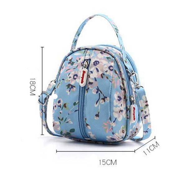 Women Nylon Casual Small Shoulder Bag