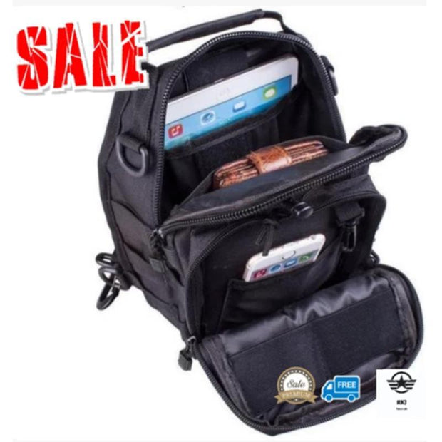 136913 Men's Casual outdoor small chest bag sports outdoor men's Messenger bag