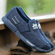 Men's Breathable Casual Walking Flat Shoes