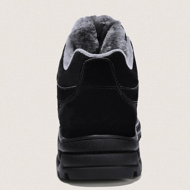 Men's Plus Velvet Warm Cotton Shoes