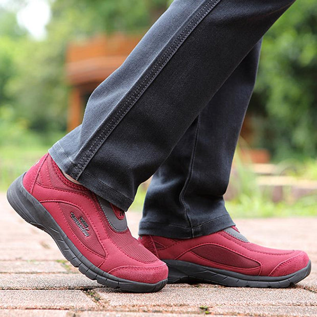 Women's All Seasons Breathable Lightweight Safety Slip On Sneakers