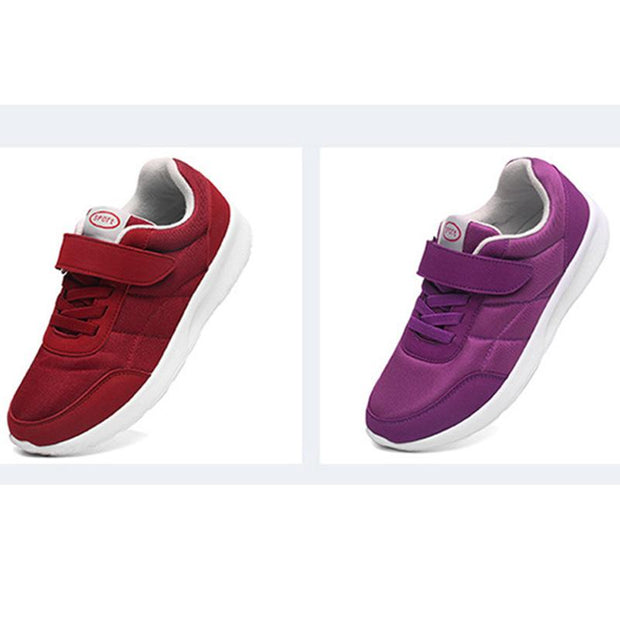 Women's Suede Cotton Fabric Lightweight Breathable Non-Slip Sneakers