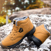 Men's Cold And Anti-Freezing Snow Boots Large Size Cotton Boots Old Beijing Shoes
