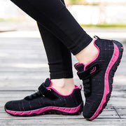 Women's Multi-Color Mesh Refreshing Breathable Non-Slip Shock Absorption Sneakers