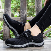 Women's Leather Faux Fur All Seasons Breathable Non-Slip Sneakers