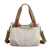 Women's Trend Retro Large Capacity Canvas Shoulder Bag