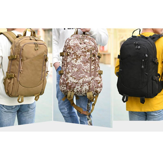 Men's Business Large Capacity Outdoor Travel Hiking Backpack