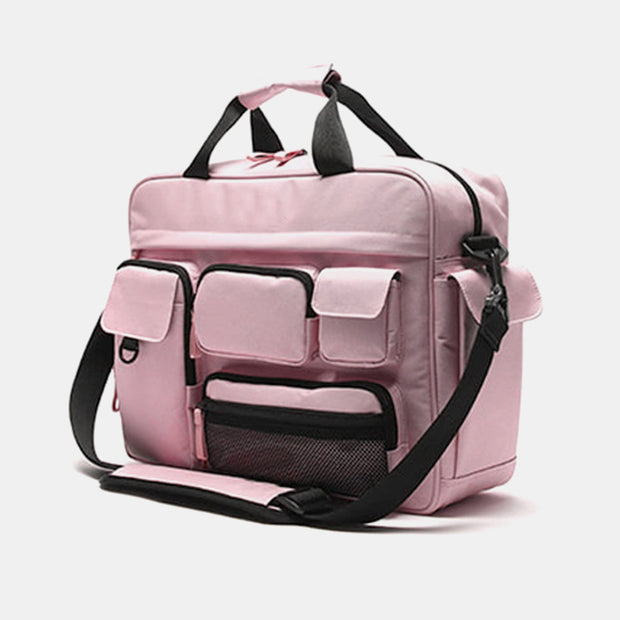 Women Nylon Waterproof Large Capacity Travel Crossbody Bag