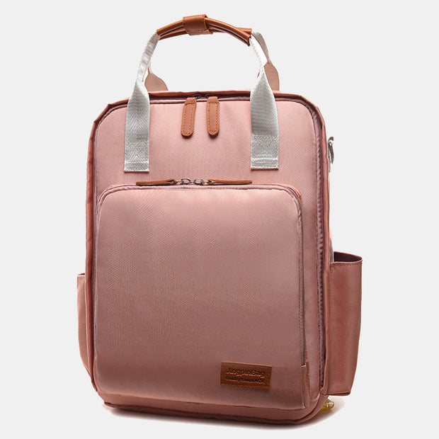Women's Canvas Student Travel Laptop Backpack