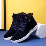 Men's High Top Sneakers Casual Ankle Boots,Martin Boots