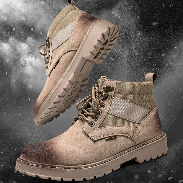 Men's Stylish Breathable Outdoor Wear-Resistant Martin Boots