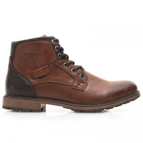 Men Comfortable Lace-up Classic High-top Boots