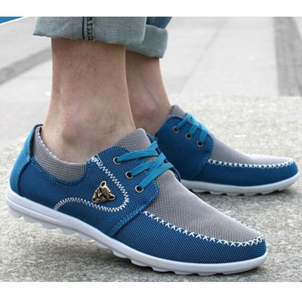 Men's New Brand Canvas Casual England Jogging Flats