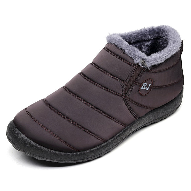 Winter Warm Snow Waterproof Cotton Shoes