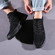 Men's New Autumn And Winter Shoes Leather Casual Tide Sports Shoes