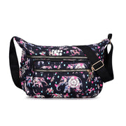 Women's Multi-layer Waterproof Oxford Outdoor Leisure Travel Shoulder Bag