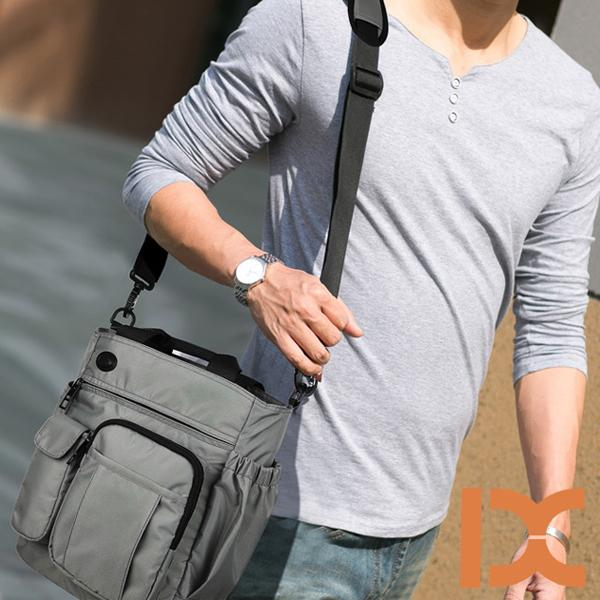 Men's Large Capacity Waterproof  Crossbody Shoulder Bag