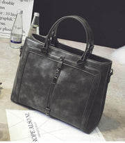 Retro Large Capacity Briefcase Handbags