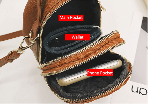 Mini Chain Shoulder Phone Bag (checkout & enter 20OFF to enjoy 20% off)