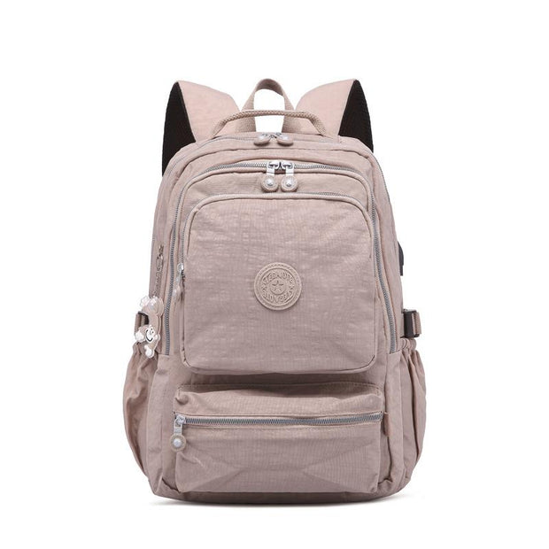 Multi-pocket Waterproof USB Charging Port School Travel Backpack(Buy 2 get -10% by code:BUY2)
