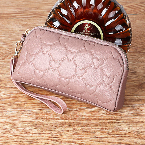 Women Clutch Bag Large Capacity Leather Wallet