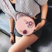 handbag  flower decoration mini bag Korean version of the trend round 134782