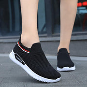 Mesh Breathable Slip On Athletic Running Casual Sport Shoes