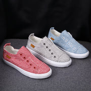 Women Canvas Casual Flat Shoes