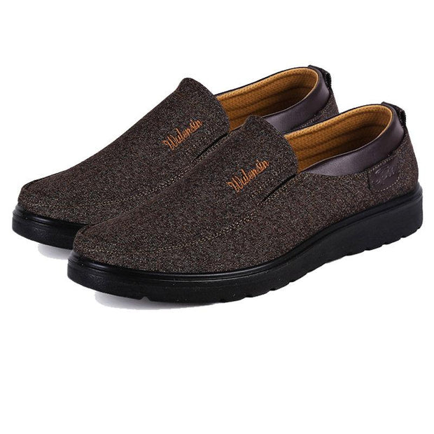 Men Casual Cloth Slip-On Loafer Shoes