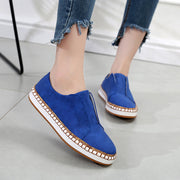 Women Casual Round Toe Lightweight Flat Loafers