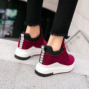 Women Casual Lace Up Platforms Shoes