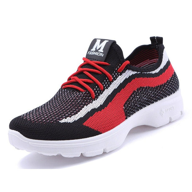 Women Casual Breathable Lace Up Sport Shoes