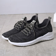 Men Knitted Fabric Casual Running Shoes