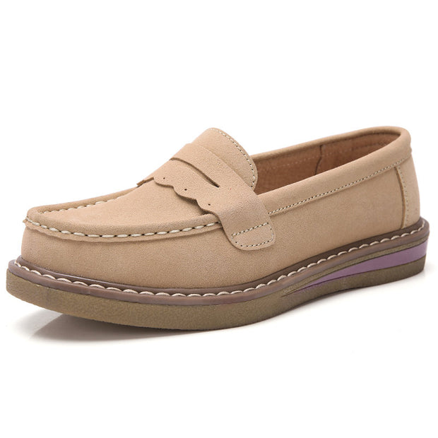 Women Casual Lightweight Flat Loafers