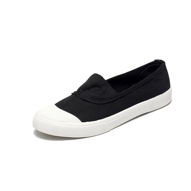 Women Canvas Casual Light Flat Shoes