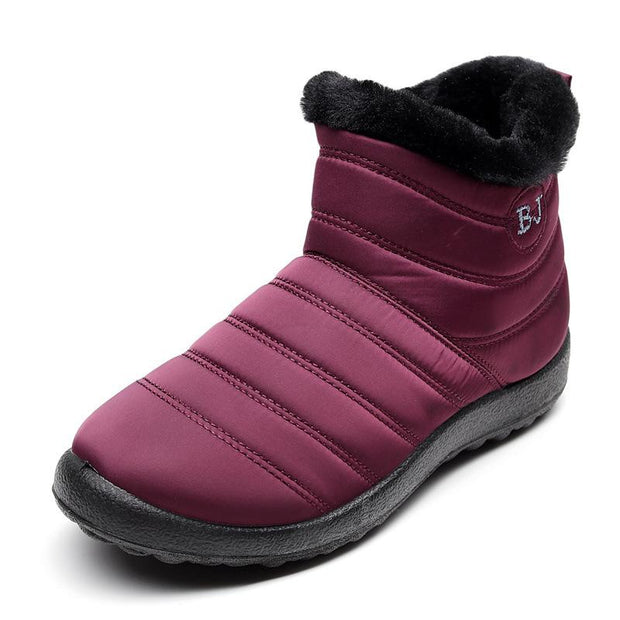Women's Winter Cotton Non-slip Waterproof Snow Boots