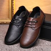 Men  Leather Non Slip Soft Casual Shoes