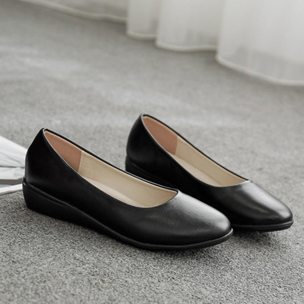 Women's Leather Comfortable Business Dress Shoes