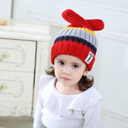 Children's wool hat baby knit hat ears can be freely shaped tree fruit Christmas gift