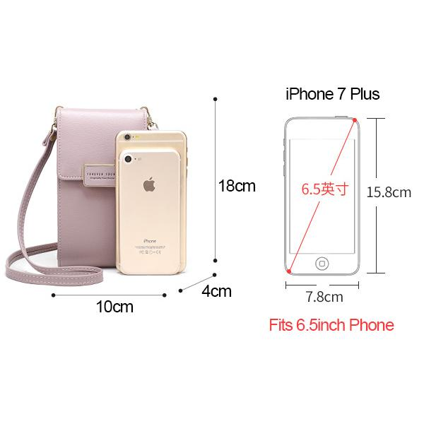 Cell Phone Crossbody Bag Card Holder