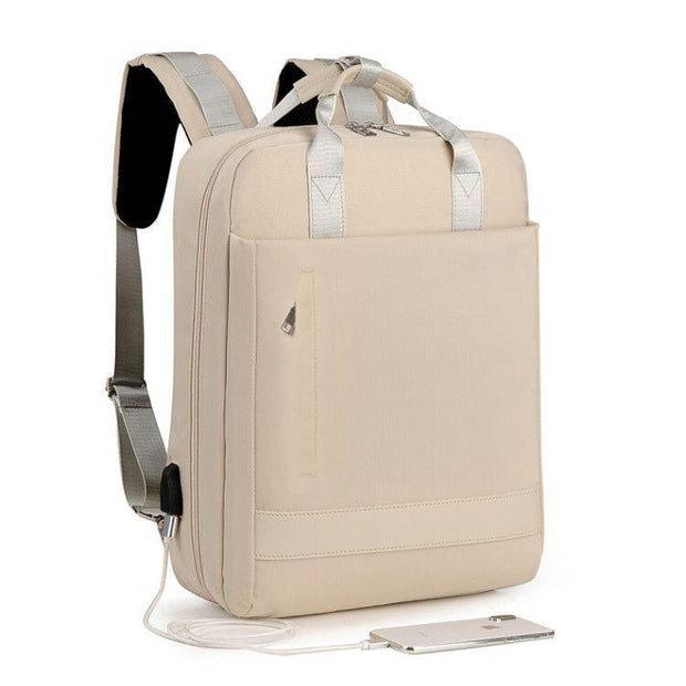 Multi-pocket Rechargeable Laptop Backpack