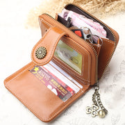 Women Cute Coin Holder Short Wallet