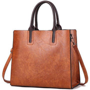 Top Handle Vintage Satchel Tote Bag