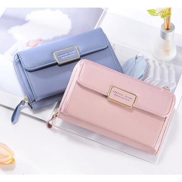 PU Leather Wallet Phone Bag Crossbody Bags