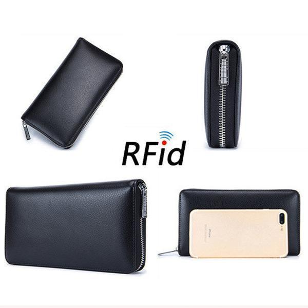 RFID Genuine Leather Card Wallet(Buy 2 get -10% by code:BUY2)