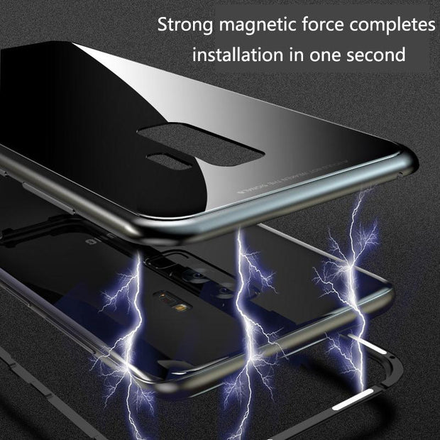 360° Full Body Protective Magnetic Adsorption HD Screen Case