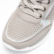 Women's Casual Lightweight Artificial Leather Sneakers