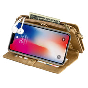 Wallet Case with Kickstand and Flip Cover for iPhone(Buy 2 get -10% by code:BUY2)