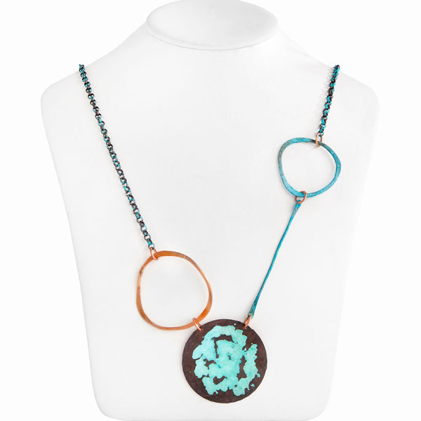 Blue Hole Necklace in Turquoise