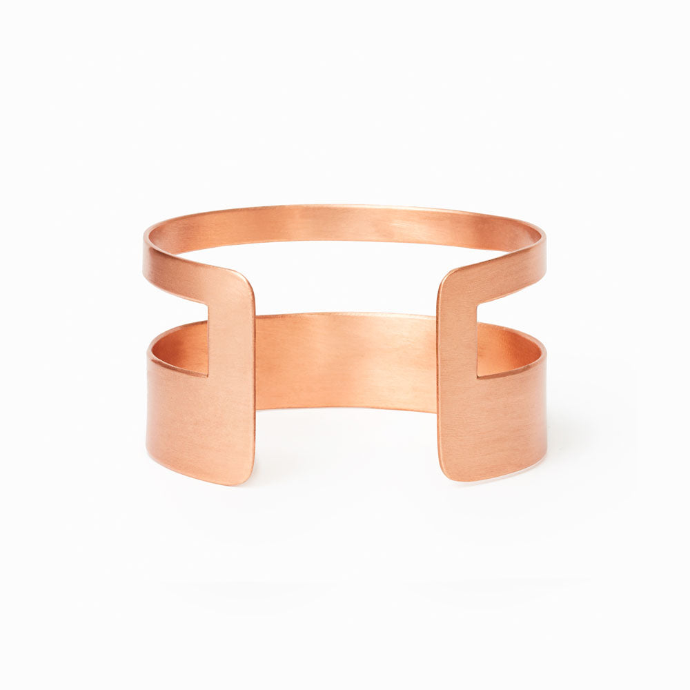 City Copper Cuff Bracelet